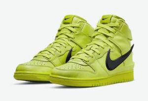 Nike Dunk High AMBUSH Flash Lime CU7544-300 *Multiple Sizes*
