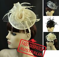 Melbourne Cup Spring Autumn Racing Carnival Headband / Clip Hatinator Fascinator