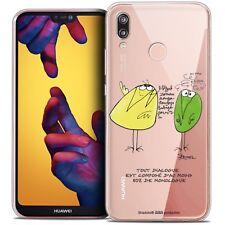 """Coque Crystal Gel Pour Huawei P20 LITE (5.84"""") Souple Les Shadoks® Le Dialogue"""