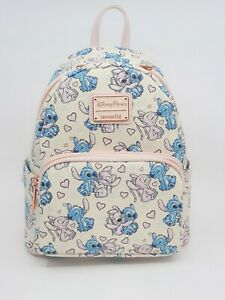Loungefly Mini Backpack - STITCH & ANGEL VALENTINES Disney Parks Exclusive BNWT