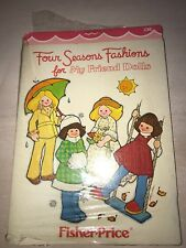 Four Seasons Fashions For My Friend Dolls Patterns Brand New In Package
