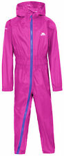 Trespass Girls Button II Waterproof Breathable Elasticated Rain Suit 6 Years Tre2975-hop-6