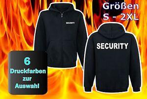 SECURITY  Kapuzen-Sweatshirt  Jacke Hoodie SE1