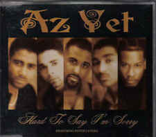 AZ Yet feat Peter Cetera- Hard To Say im sorry cd maxi single