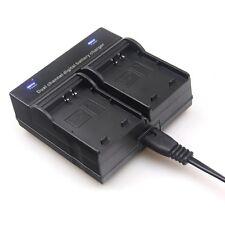 Battery Charger Dual Channel For Canon LP-E10 1200D/1100D REBEL T3 KISSX50 LPE10