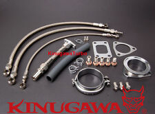 Turbo Install Kit Nissan RB20DET RB25DET w/ Kinugawa TD05H TD06 Top & Low Mount