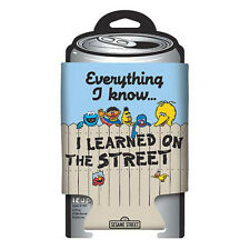 SESAME STREET -  Everything I Know Can Hugger (koozie) - NEW in AUSTRALIA