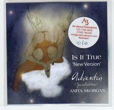 (EF578) Anita Skorgan, Is It True - DJ CD
