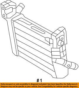 Dodge CHRYSLER OEM 15-18 Charger-Intercooler 5181881AB
