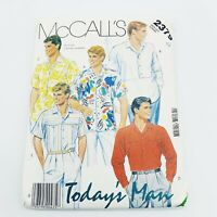 McCalls Vintage Sewing Pattern #2793 Miss and Mens Tops Stretch Knit Size Medium