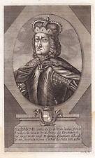 Portrait XVIIIe Sigismond D'Autriche Habsbourg Siegmund Österreich-Tirol 1744