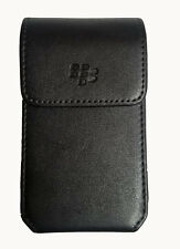 Universal Black berry pouch with Swivel belt clip Fits most Flip Phones