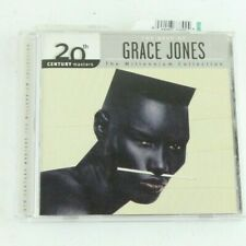 The Best Of Grace Jones The Millennium Collection Compact Disc CD 2003