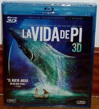 LA VIDA DE PI COMBO BLU-RAY 3D+BLU-RAY NUEVO PRECINTADO ACCION (SIN ABRIR) R2
