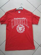 TEE SHIRT ROUGE TAILLE M 36 - 38 POUR HOMME TRENCH UNIVERSITY CORNELL