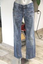 carino jeans donna blu sbiadito Wenga elasticizzato DIESEL taglia