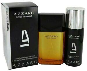 Azzaro Pour Homme by Azzaro - 3.4 oz EDT Spray + 5.1 oz Deodorant Spray - 511593