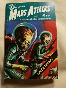 MARS ATTACKS mini-comic #3 Shock Troops (1988) Topps Comics First to open