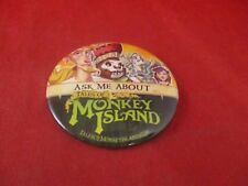 Ask Me About Tales of Monkey Island Employe Promotional Button Pin Promo Pinback