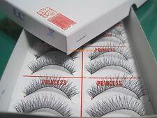 1 Box-New Original PRINCESS LEE Handmade False Fake Eyelash- X7 Black (10 Pairs)