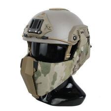 TMC Mandible Tactical Guide Rail Half Face Mask New for OC Highcut Helmet MC