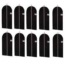 10 Kleidersack Kleiderhülle Schutzhülle Kleidersäcke in Schwarz 150 x 60 cm