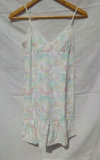 SIZE 12 JASPER CONRAN STRAPPY LIGHTWEIGHT MULTICOLOURED SUN DRESS NWOT