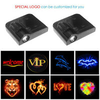 2 x CREE LED Car Door Light Projector Shadow Puddle Courtesy Laser LOGO Light UK