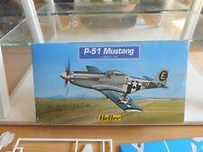 Modelkit Heller P-51 Mustang on 1:72 in Box