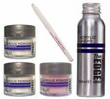 Pack: Liquido acrilico  + 3 polvos acrílicos +  lapiz primer  Autonivelante uñas