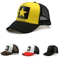 Cap Mesh Gorras Summer Baseball Hats Women Hat Men Hip Caps Sun Trucker Hop Supe