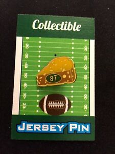 Green Bay Packers Jordy Nelson lapel pin-CHEESEHEAD NATION Grab a slice!