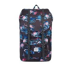 Herschel Supply Co. Little America Mid in Floral Blur/Black Rubber NWT