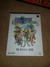 FINAL FANTASY CRYSTAL CHRONICLES  GUIDE FOR GAMECUBE EDITION - PIGGYBACK