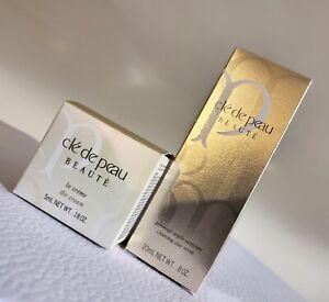Cle De Peau Beaute La Creme/ The Cream  5ml + cleansing clay scrub 20ml) New