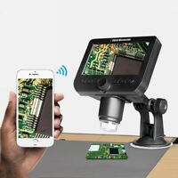 "2MP 50X-1000X WiFi Digital Microscope w/4.3"" LCD Display For Circuit Detection*"