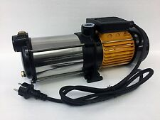 Mehrstufige Kreiselpumpe megafixx HMC5SA 5 Edelstahl Laufräder 5,5 BAR 1100 Watt