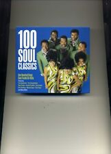 100 SOUL CLASSICS - SUPREMES TEMPTATIONS SAM COOKE ETTA JAMES - 4 CDS - NEW!!