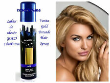 Venita Brocade Hair Spray Gift for Her  /Lakier do włosów z brokatem GOLD UK