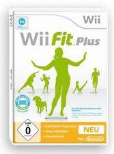 Wii Fit Plus Spiel für Nintendo Wii u. für das Balance Board, NIN Wii Sportspiel