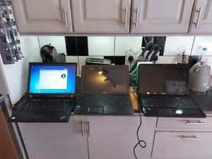 Joblot 3 x Laptops - Toshiba Satellite C850-1G2 / Lenovo R500 / L650D-13U - 485