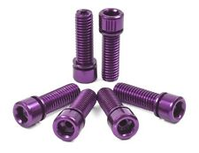 SHADOW CONSPIRACY HOLLOW STEM BOLTS BMX BIKE BICYCLE CULT SE SUBROSA HARO PURPLE