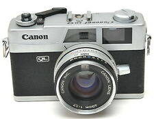 Canon Canonet QL17 35mm Rangefinder Camera w/ 40mm 1.7 Lens