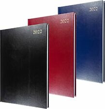 More details for collins 2022 diary essential a4 a5 day to page diary