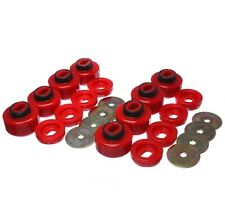 Energy Suspension 3.4162R Body Mount Set Red For 07-10 GMC Sierra 3500 HD NEW