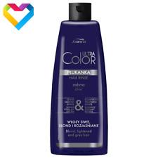 JOANNA Ultra Color System Hair Toner Rinse SILVER 150ml NO YELLOW Blonde Grey