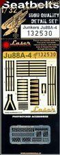 HGW 1/32 Junkers Ju-88A-4 Seat Belts (Laser) # 132530