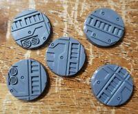 Bitspudlo Alternative Warhammer Sector Mechanicus Industrial Bases 50mm 3