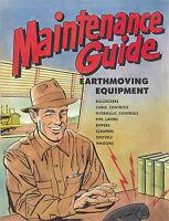 Caterpillar Maintenance Guide Earthmoving Equipment