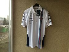 Williams Martini Racing JERSEY S POLO WHITE British Formula One motor racing